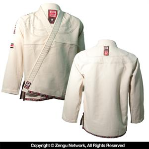 Grab and Pull Elite Unbleached Jiu Jitsu Gi